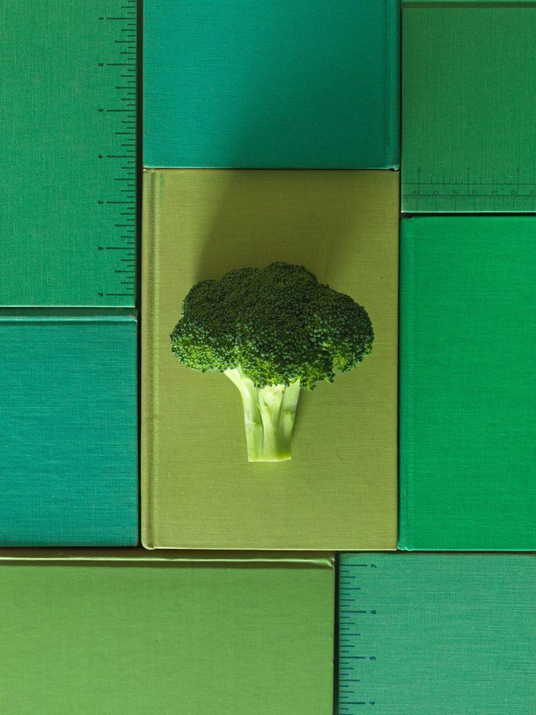 Broccoli Garbanzo Soup