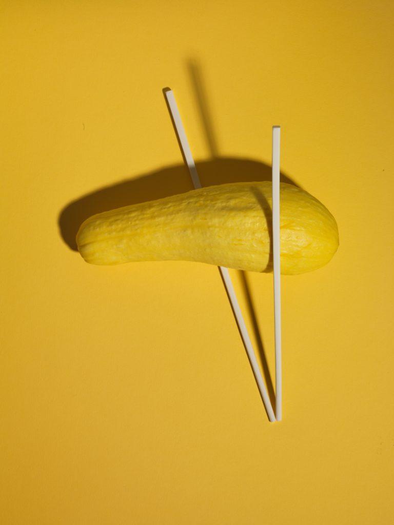 Yellow Squash Pad Thai