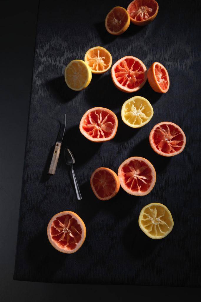 Grapefruit Campari Sorbet