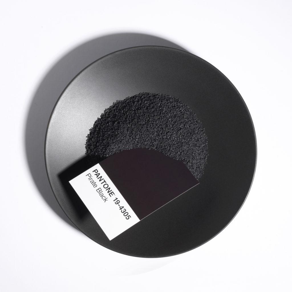 Black Sesame and Charcoal Sourdough Crackers