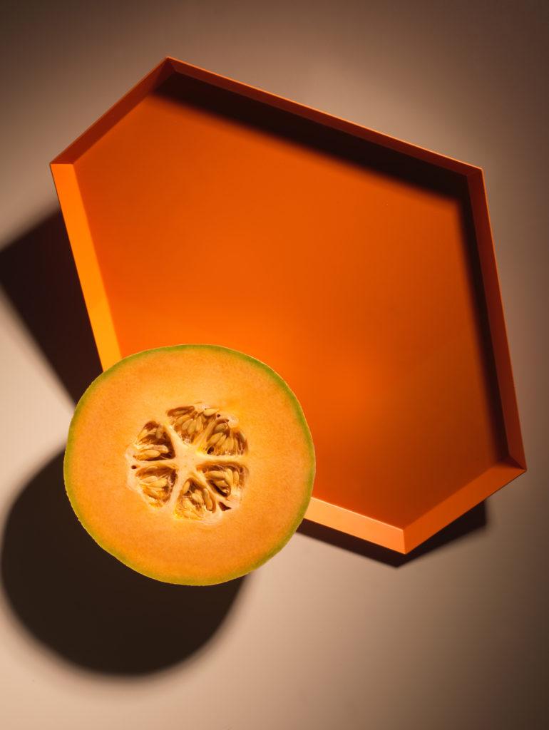 Cantaloupe Daiquiri With Nasturtium Sugar
